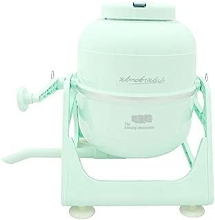The Laundry Alternative Wonderwash Retro Colors Non-electric Portable Compact Mini Washing Machine (Mint Green)