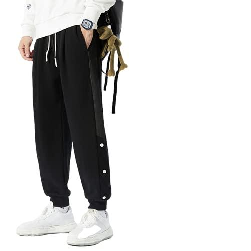 Pantalones Casuales para Hombre, Tendencia de otoño, diseño Suelto de Pecho Lateral, Pantalones Casuales de Hip-Hop, Pantalones Deportivos con Personalidad de Moda callejera 7XL