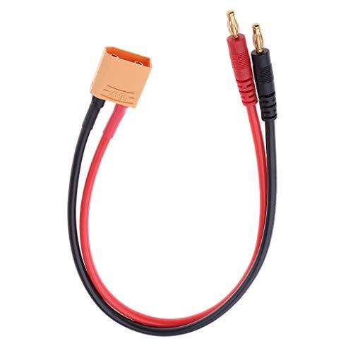 F Fityle XT90 a Conector Tipo Banana de 4.0 Mm para Batería RC Lipo