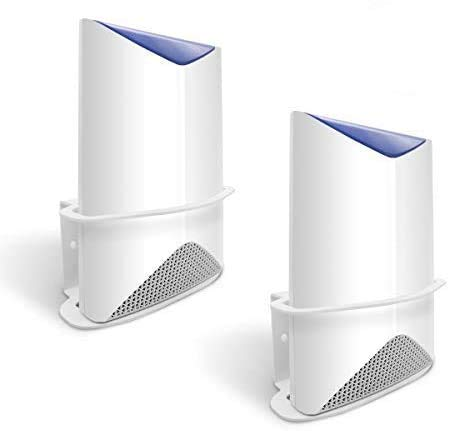Wall Mount Compatible Orbi Pro AC3000 Business Mesh WiFi, ALLICAVER Sturdy Metal Made Mount Stand Holder Compatible Orbi Router SRK60 (2 Pack)