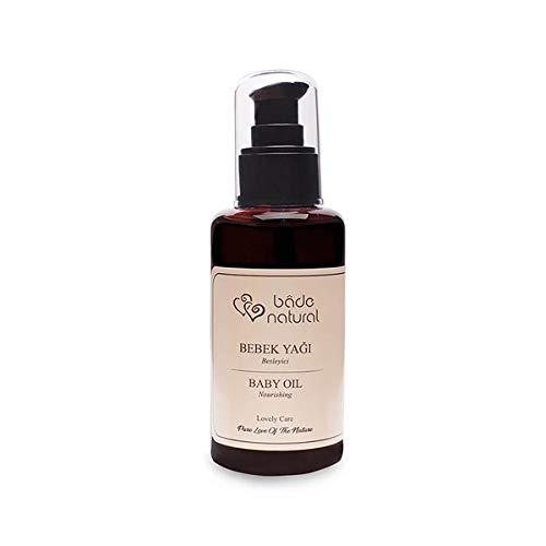 Olivos Bade Natural Baby-Öl mit Rosenöl und Süßmandelöl natürliche Feuchtigkeit zertifizierte Naturkosmetik