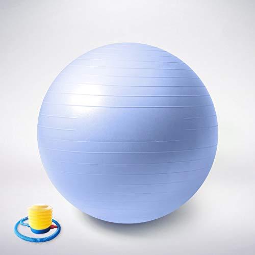 A prueba de explosiones engrosada Yoga de la bola Pelota de ejercicio, 55cm 65cm bola de yoga, anti-explosión bola de equilibrio espesado for la terapia de Pilates Parto terapia física silla de gimnas