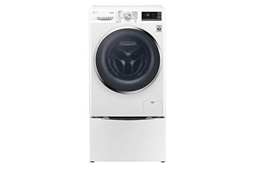 LG F4J7VY2WD_F8K5XN3 lavatrice Libera installazione Caricamento frontale Bianco 9 kg 1400 Giri/min A+++-30%