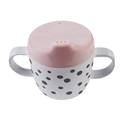 Snabelmok Happy Dots roze