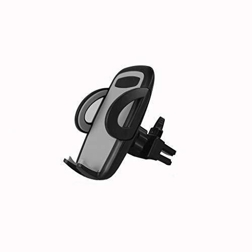 Joocyee Universal Smartphone Car Air Vent Mount Soporte de Soporte Soporte para iPhone Samsung Xiaomi Sony Nokia 3.5-6.7 Pulgadas Celulares, Gris Soporte de Salida de Aire para automóvil, Gris