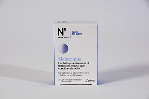 Cinfa - Nature System Melatonina - Complemento alimenticio - 30 comprimidos