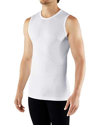 FALKE Herren Singlet Cool, Sport Unterhemd aus Funktionsfaser, 1 er Pack, Weiß (White 2860), S