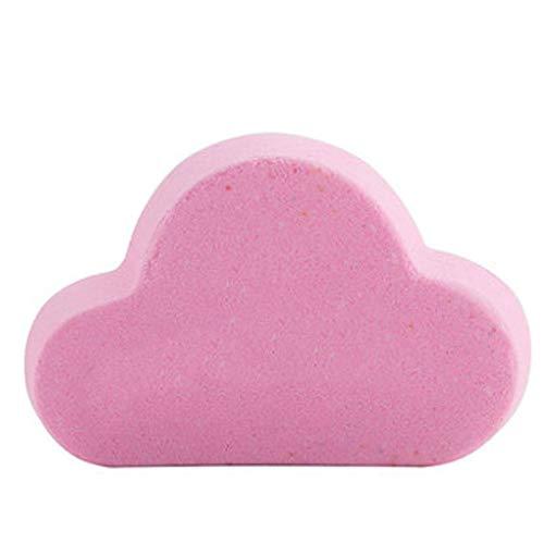 Arc en ciel Ballon de bain Ballon de bain Femme Bubble Ballon de bain Bubble Bomb Explosion Bath Sel Baignoire Bath Supplies-Light Pink