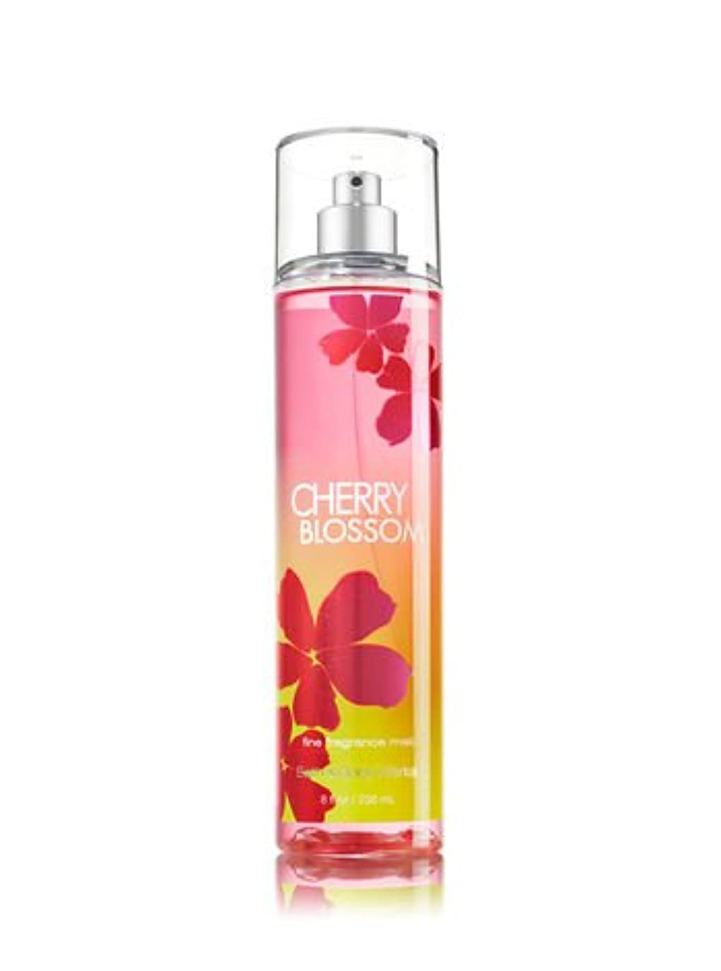 圧縮タンパク質進化【バス&ボディワークス】 Fine Fragrance Mist/ファインフレグランスミスト Cherry Blossom [海外直送品]