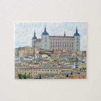 Toledo, España Rompecabezas 1000 piezas, desafiantes y educativos, rompecabezas de pintura abstracta para niños y adultos