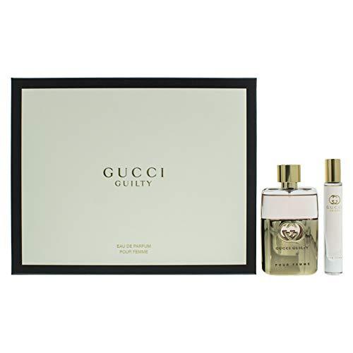 Gucci Guilty pour Femme Set 50 ml Eau de Parfum + 7,4 ml EDP Rollerball NEU 2019 TRENDPARFUM