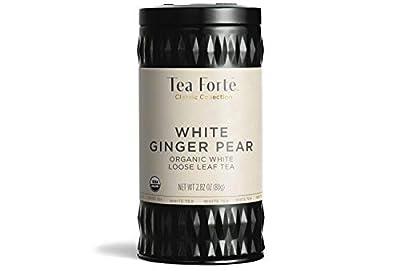 Tea Forte Ginger Pear - Thé Blanc Bio Gingembre Poire en vrac - 60 g by Tea Forté