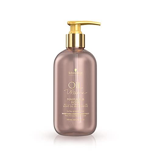 Schwarzkopf Marula Rose Oil Ultime Shampoo 300 ml - 2er Pack SCH407