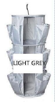 Junsi Large Mesh Pockets Netztaschen Heavy Duty Hanging Over the Wardrobe/Bedroom/Bathroom Shoes Bags Storage Schuhe Taschen Lagerung