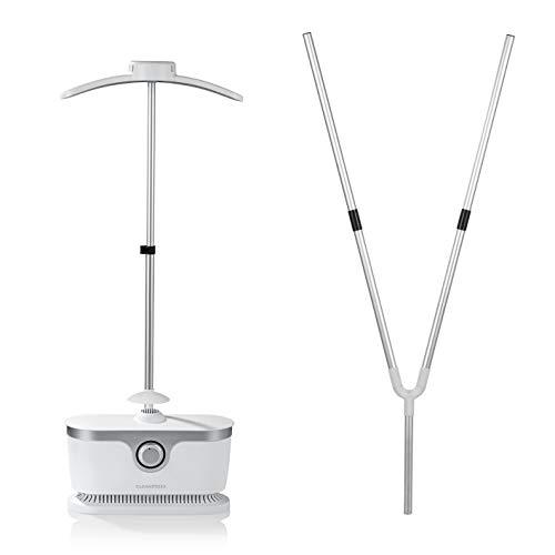 CLEANmaxx Stiratrice automatica per Camicie | Stiratrice Completamente automatica per Camicie e camicette con 2 programmi di stiratura (Plancha sin Vapor Incl. Acoplamiento)