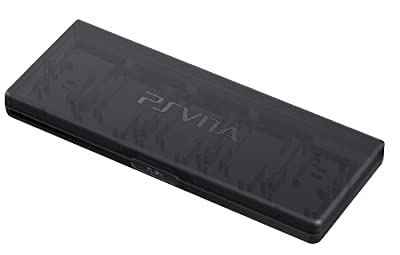 Sony 22046 Official PlayStation PS Vita PCH-ZGC1 Game Memory Card Case/Holder - Black