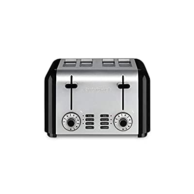 Cuisinart CPT-340P1 Brushed Hybrid Toaster, 4-Slice, Stainless Steel