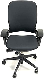 Steelcase Leap Black Fabric V2 Office Chair