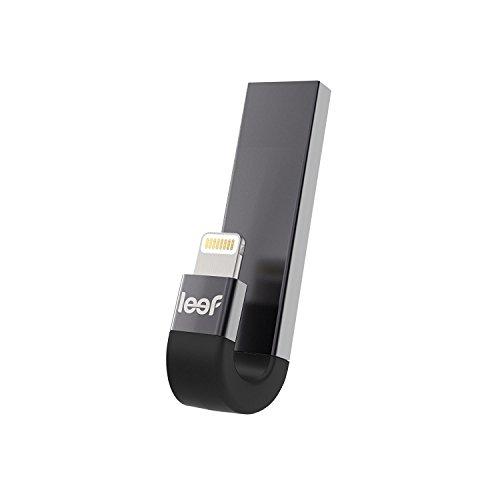 Leef iBridge 3 USB-Speicher und Lightning-Anschluss, 64 GB, USB 3.1, Speichererweiterung für iPhone/iPad schwarz