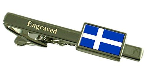 Comté de Shetland Drapeau Angleterre gravé Cravate Pochette en