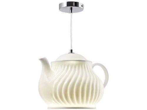 Pfiffig-Wohnen Die lustige Kaffeekannen Lampe für die Küche