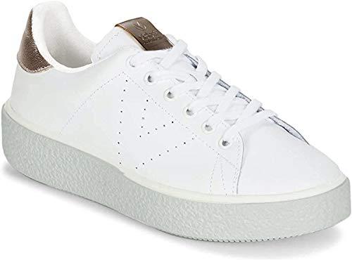 Victoria Blucher Lona, Damen Sneakers, Weiß (blanco), 38 EU