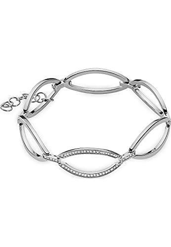 JETTE Damen-Armband 925er Silber 60 Zirkonia One Size 88184696