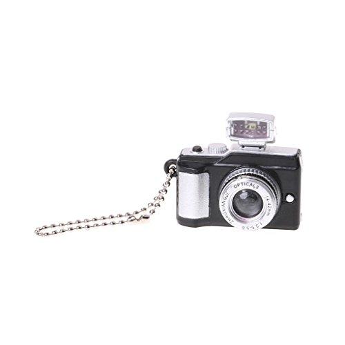 Siwetg - Portachiavi creativo a forma di macchina fotografica,...