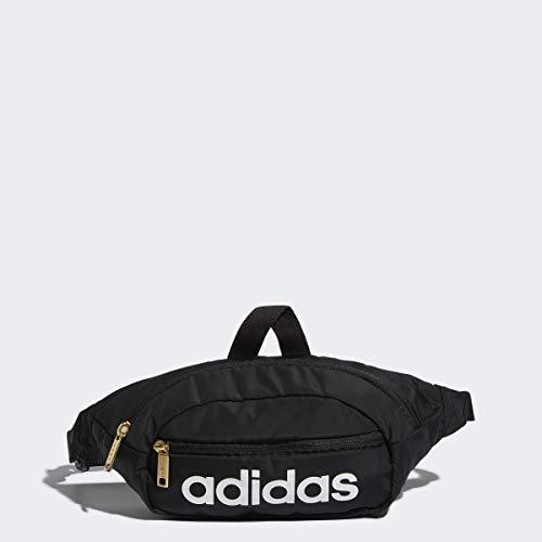 Adidas Unisex Core Waist Pack, Unisex-Erwachsene, Core Waist Pack, Schwarz/Weiß/Gold, Einheitsgröße