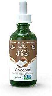 popular Sweet new arrival Leaf outlet online sale Liquid Stevia Coconut 2 OZ-SET OF 4 online sale