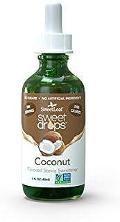 Sweet Leaf Liquid Stevia Coconut 2 OZ-SET OF 4