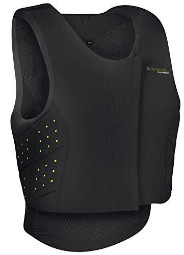 Komperdell Sicherheitsweste Equestrian Frontzip Junior | Farbe: schwarz | Größe: 140
