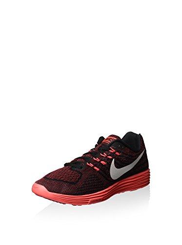 Nike Lunartempo 2, Zapatillas de Running Hombre, Rojo/Blanco/Negro/Naranja (Unvrsty Rd/White-Blk-Brght CRM), 40 1/2