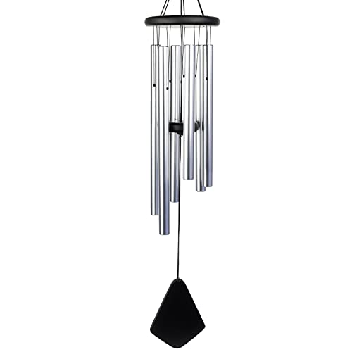 """Wind Chimes for Outside - Professionally Tuned Wind Chimes with Sound Options and Volume Control. 35"""" Wind Chime. Outdoor Wind Chimes Ready to Gift for Memorial and Sympathy Wind Chimes"""