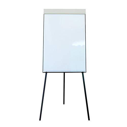 Weiße Tafel Stativ Stehen kann einstellbar Flip Demo Board Universal-Präsentation Brett for Home Offices Halten Papier Whiteboard für Kinder, Zuhause, Büro, Schule ( Color : White , Size : 60x90cm )