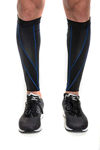 Cw-x Men's Muscle Support Compression Calf Sleeves