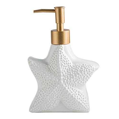 Kamenda Dispensador de jabón de cerámica,Botella de jabón líquido,Botellas desinfectante de...
