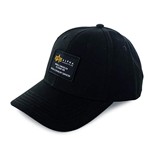 Alpha Industries Crew - Gorra negro Talla única