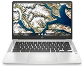 "HP - 14"" HD Chromebook - Intel Celeron N4000 Processor - 4GB"