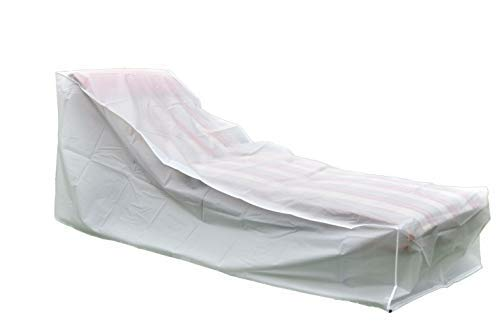 Housse de protection pour chaise longue – Bain de soleil Cloche en tissu Peva – Jardin Liegen Coque