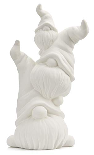 Happy Stack of Gnomes - Paint Your Own Ceramic Keepsake