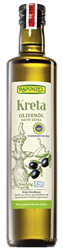 Rapunzel Olivenöl Kreta P.G.I., nativ extra, 1er Pack (1 x 500 ml) - BIO