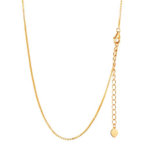 Gold Plated Necklace Women Jewelry Italy 925 Sterling Silver Chains 66CM 26 inch Long