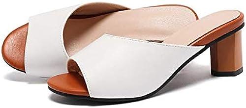 HommesGLTX Talon Aiguille Talons Hauts Sandales 2019 Grande Taille 31-44 été Talons Hauts Femmes Chaussures Mode Plage Sandales Pantoufles