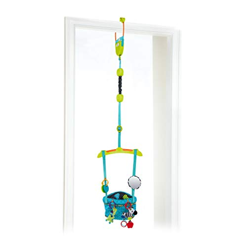 Product Image of the Bright Starts Bounce 'N Spring Deluxe Door Jumper, Blue