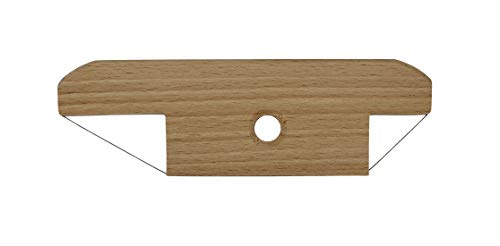 Creative Hobbies Wood and Wire Bevel Cutter Clay Trimming Tool for Pottery, Ceramics and Sculpting