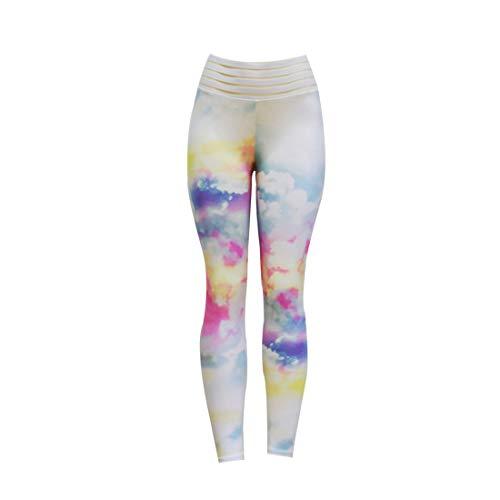 Inlefen Dames Hoge taille Leggings Bedrukt Joggingbroek Yoga broek Strakbroek