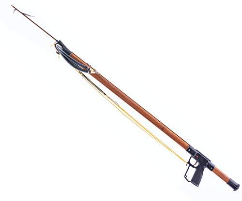 AB Biller Teak Floridian 48 Special Wood Spear Gun - Teak 48 inch for Spearfishing, Freediving or Scuba