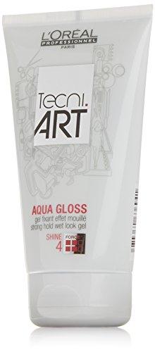 L'Oréal Professionnel TecniART Aqua Gloss, 150 ml, 1er Pack, (1x 150 ml)