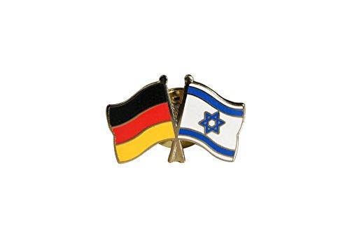 Flaggenfritze® Freundschaftspin Deutschland - Israel